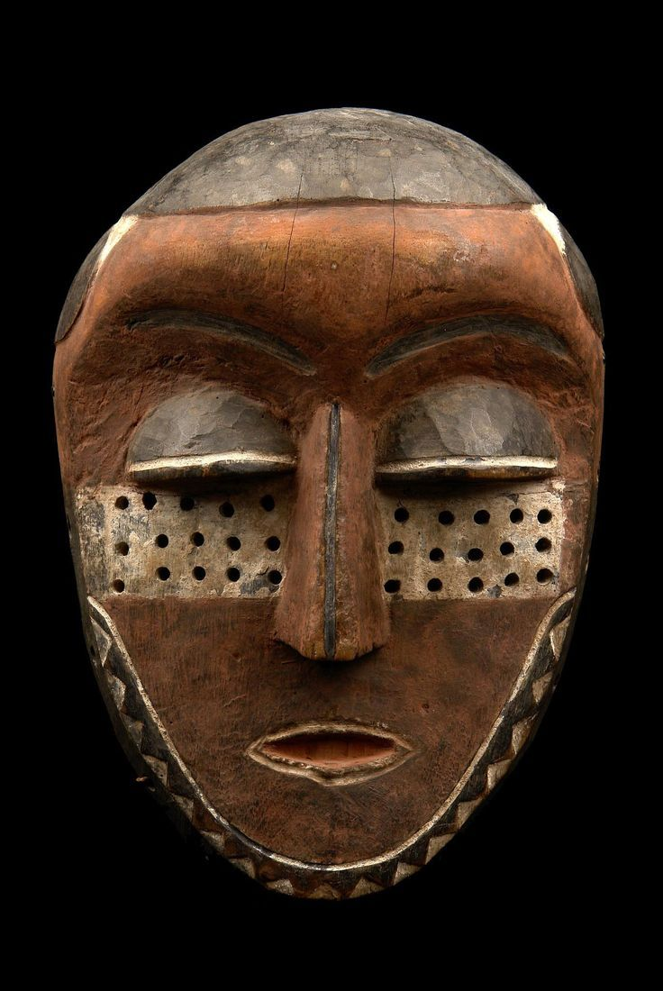 """Face mask """"kindombolo"""" from the Pende people of DR Congo a r c a n o 18+ : Photo"""