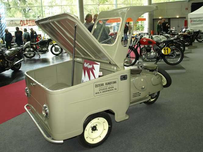 Puch: Puch LARO 125 - Bj. 1953