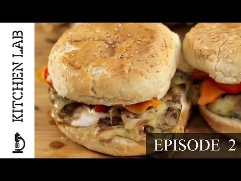 Kitchen Lab by Akis Petretzikis [Episode 2] - Light Burger