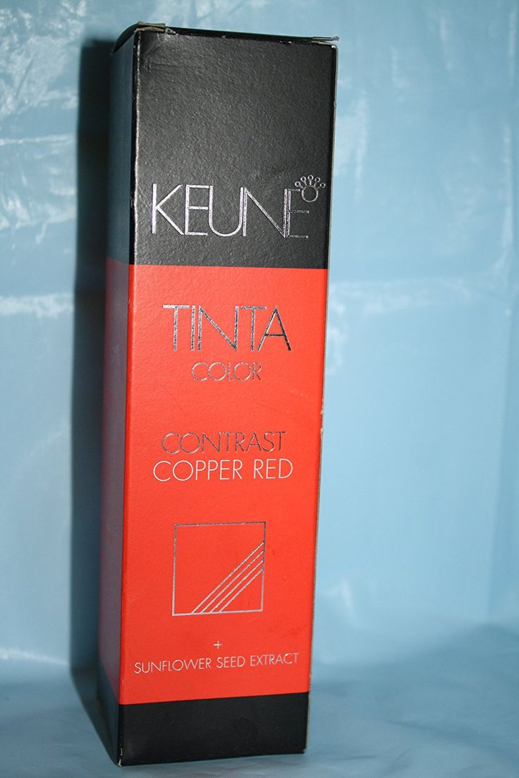 Keune Tinta Color Contrast Copper Red Hair Dye 3.5 Oz -- Read more  at the image link.