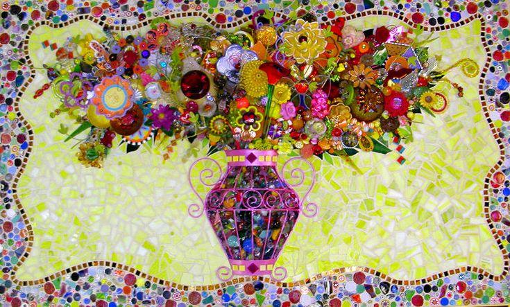Mosaic Floral Bouquet