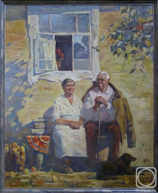 Маринова Анна. Мои бабушка и дедушка