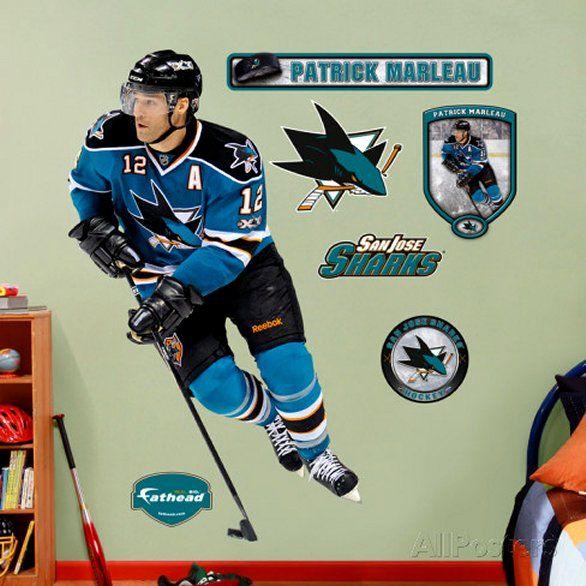San Jose Sharks - Patrick Marleau - Wall Decal