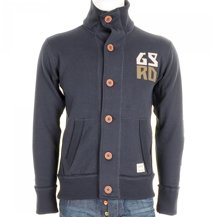 G Star Raw Jumpers / Zip Tops > G Star Raw Hickory Sweat Zip Top Naval Blue > G Star Jumpers G Star Raw Coats G Star Mens Designer Clothing Stockists Online UK Mainline Menswear Stockists Of G Star Diesel Lyle & Scott Franklin Marshall Paul Smith Lacoste And Many More