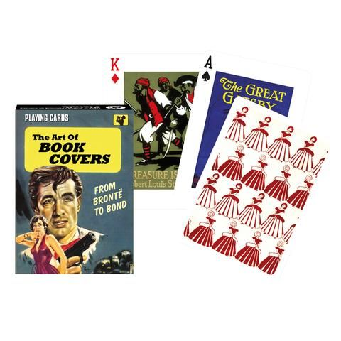 The Art of Book Covers Playing Cards