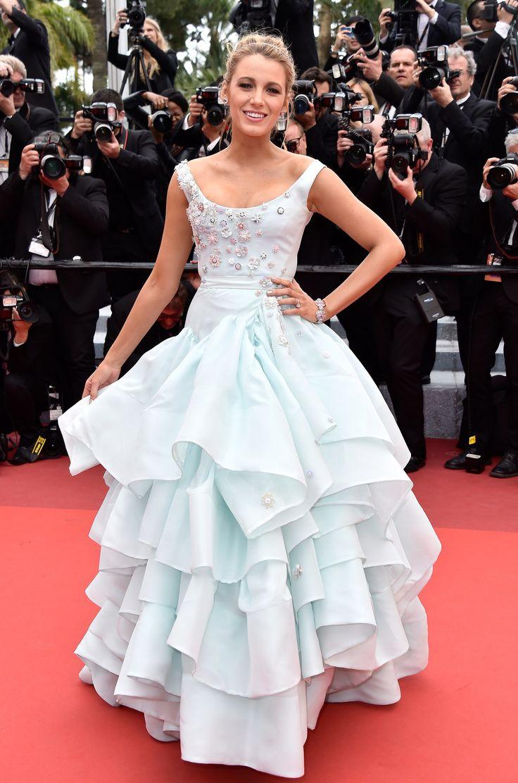 Blake Lively au festival de Cannes 2016 #cendrillon