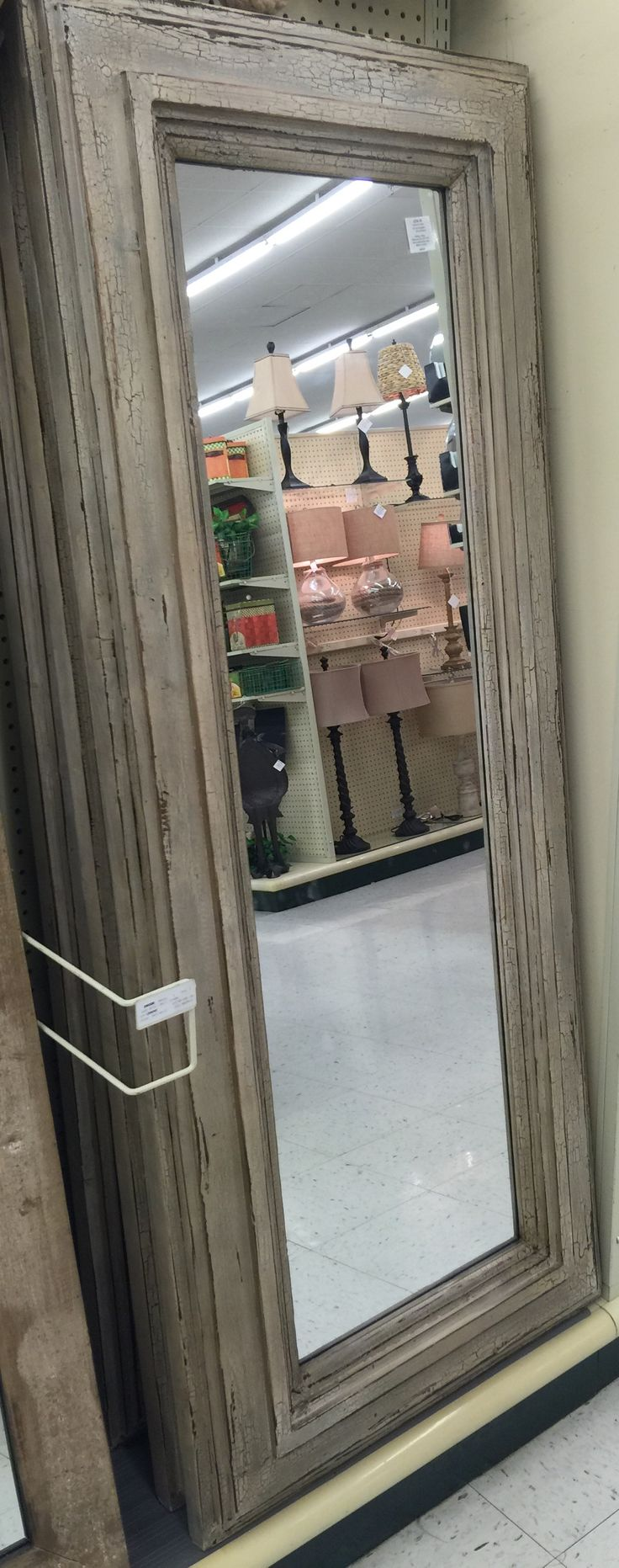 Nice heavy floor mirror @ Hobby Lobby