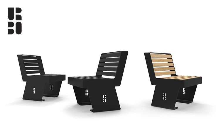 Noir sedia / chair black/wood