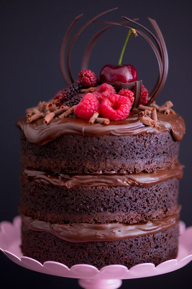 Mini Naked Cake de Nutella
