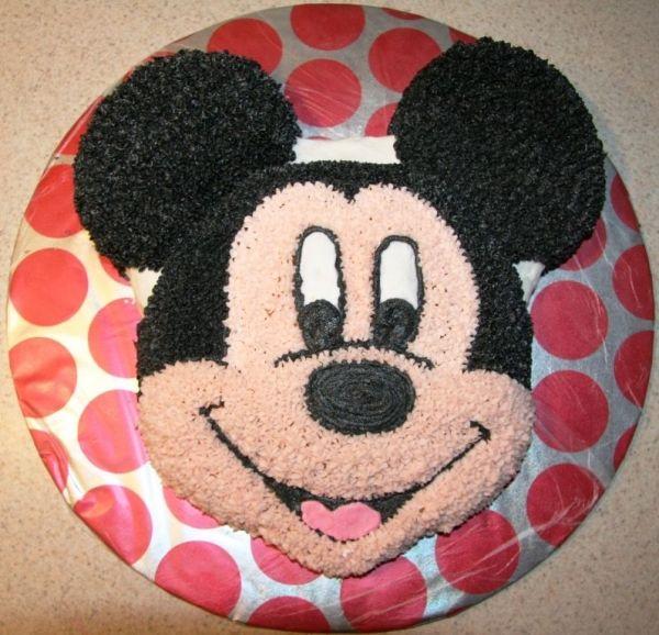 Com Mickey Mouse Face Cake Template Disney Walt