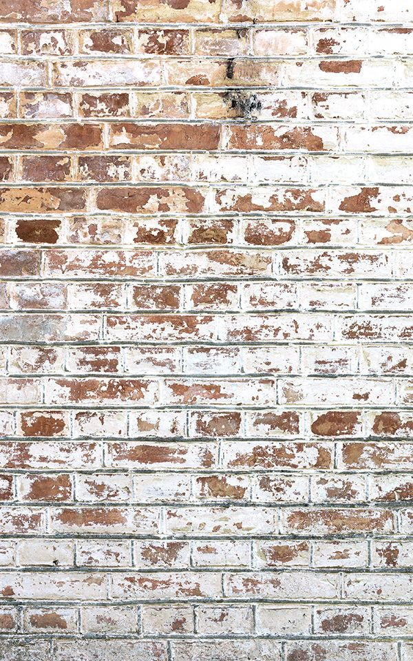 Painted White Brick Wall Mural Industrial Style Muralswallpaper Brick Wallpaper Mural Brick Effect Wallpaper Painted Brick