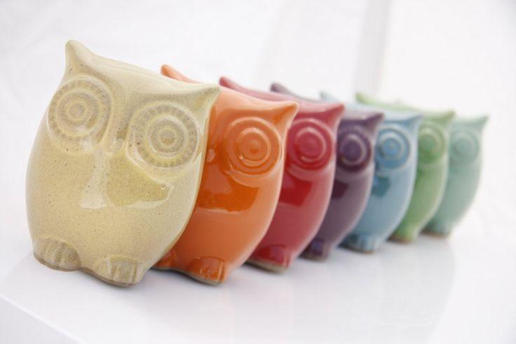» Owl ceramic $39.00, via Etsy «