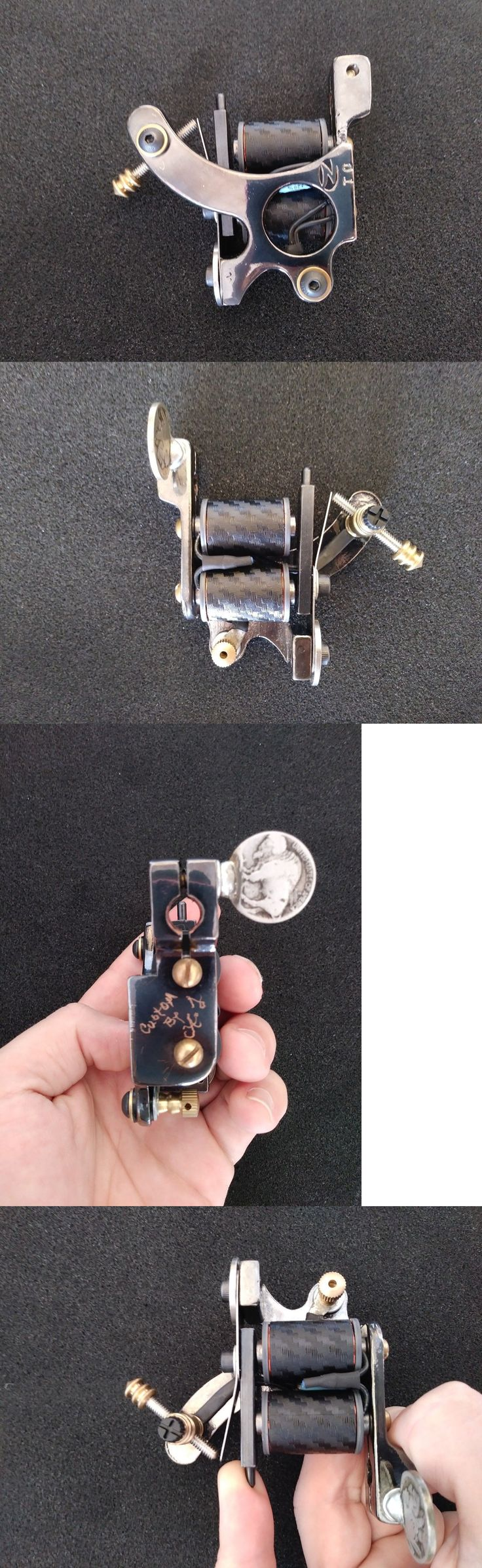 Tattoo Machines and Parts: Custom Coil Tattoo Machine -> BUY IT NOW ONLY: $60 on eBay!