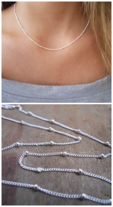 Chic, simple, elegant, everyday necklace