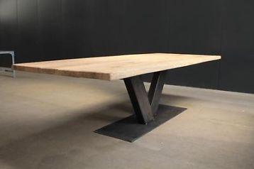 Boomstam tafel Udine, 260 x 120 cm!