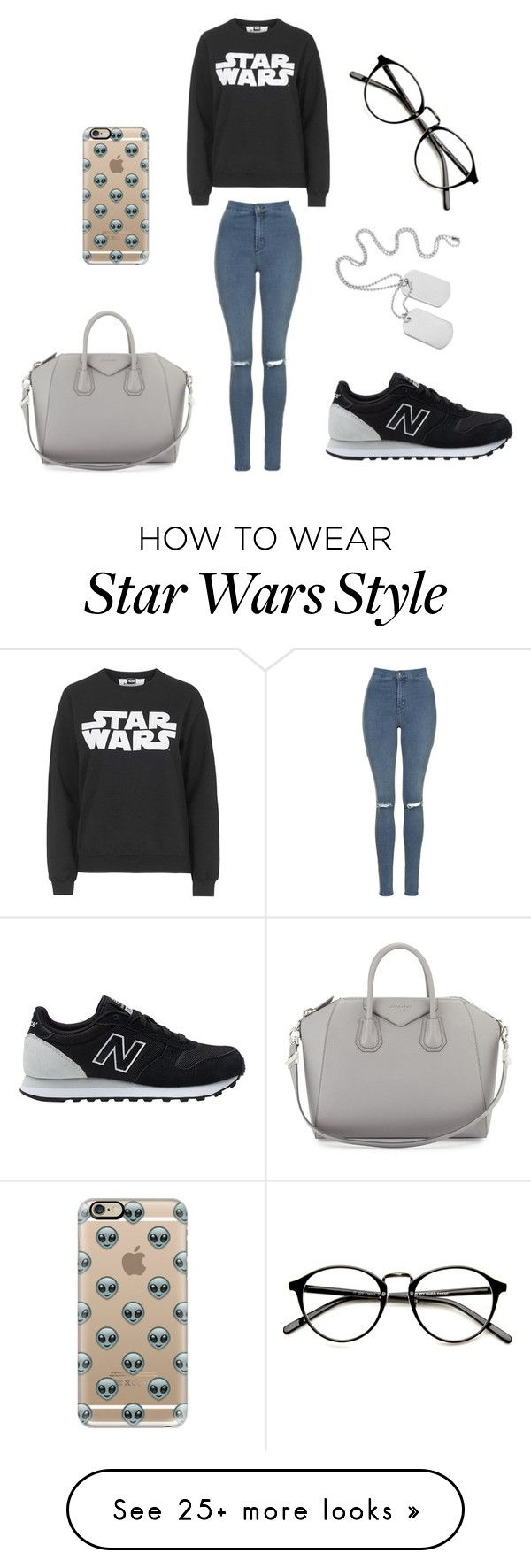 """""""Untitled #169"""" by verca000 on Polyvore featuring Topshop, New Balance, Givenchy and Casetify"""