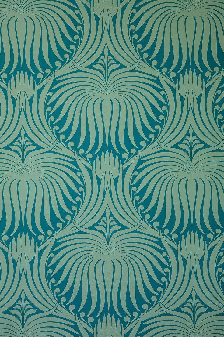 Farrow & Ball Lotus Wallpaper Anthropologie