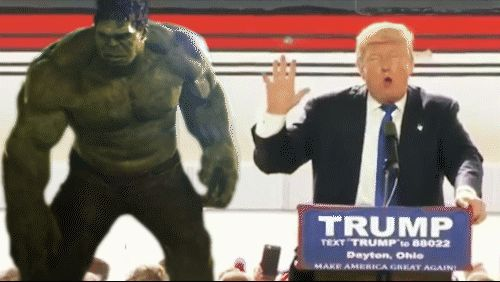 16 Donald Trump GIFs you cannot unsee. #Trump #2016