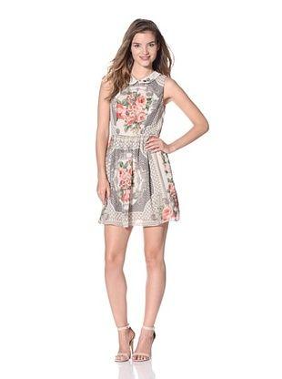 A.B.S. by Allen Schwartz Women's Foulard Print Dress