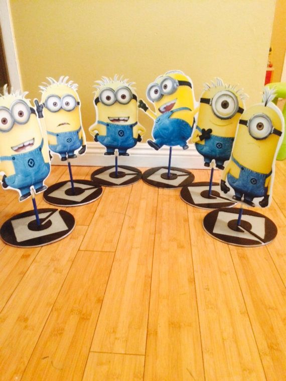 Minions Movie  Character Centerpiece despicable me centerpiece