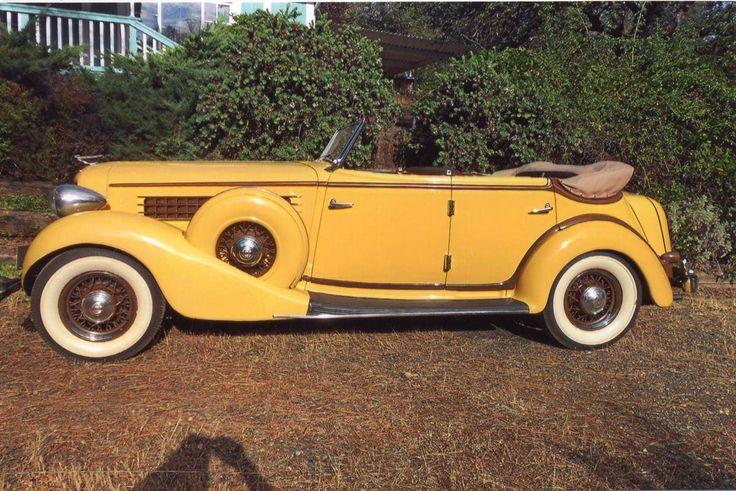 1935 Auburn 851 4-dr Convertible Phaeton for sale | Hemmings Motor News