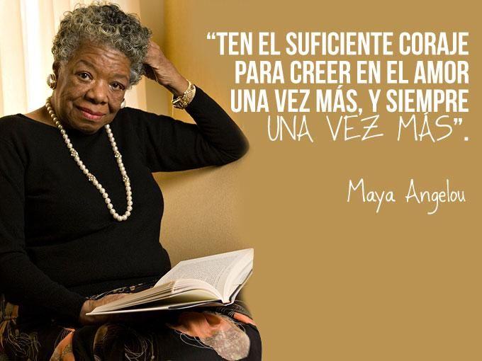 Hoy despertamos con una triste noticia. La muerte de Maya Angelou, una heroína de la vida real que hasta su muerte, veló por los derechos civiles de los afroamericanos y las mujeres de la mano de Malcom X y Martin Luther King.Maya murió el día de hoy, 28 de mayo, en su casa de Carolina del...