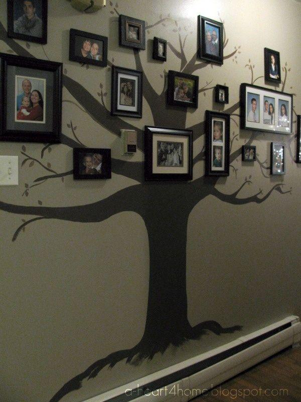 I will do this!!!Beautiful Family Tree Wall Mural