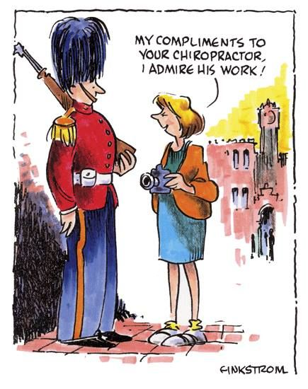 My compliments to your chiropractor.  I admire his work.