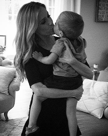 Kristin Cavallari kisses her son Camden before date night with Jay Cutler!