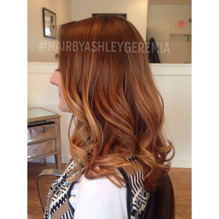 1000 images about red ombre balayage on pinterest copper long curly and red balayage highlights. Black Bedroom Furniture Sets. Home Design Ideas