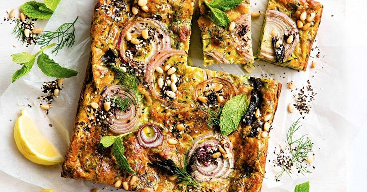 Big on flavour, low on fuss! You can have this Turkish-inspired bake in the oven in less than 20 minutes, then it's just a matter of waiting for the haloumi and zucchini filling to set and the top to turn golden and caramelised.