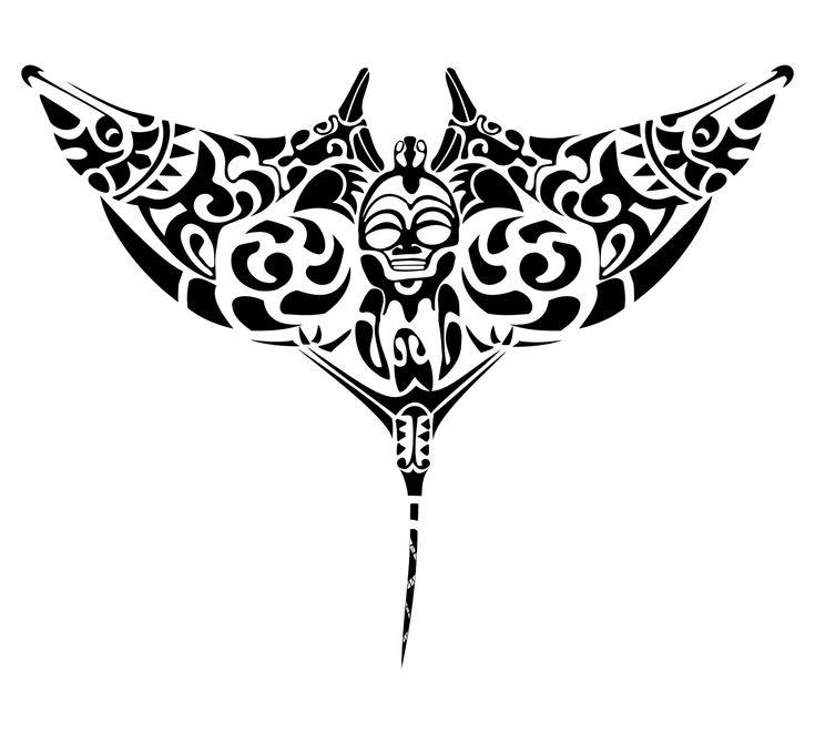 manta ray Design 400x761px