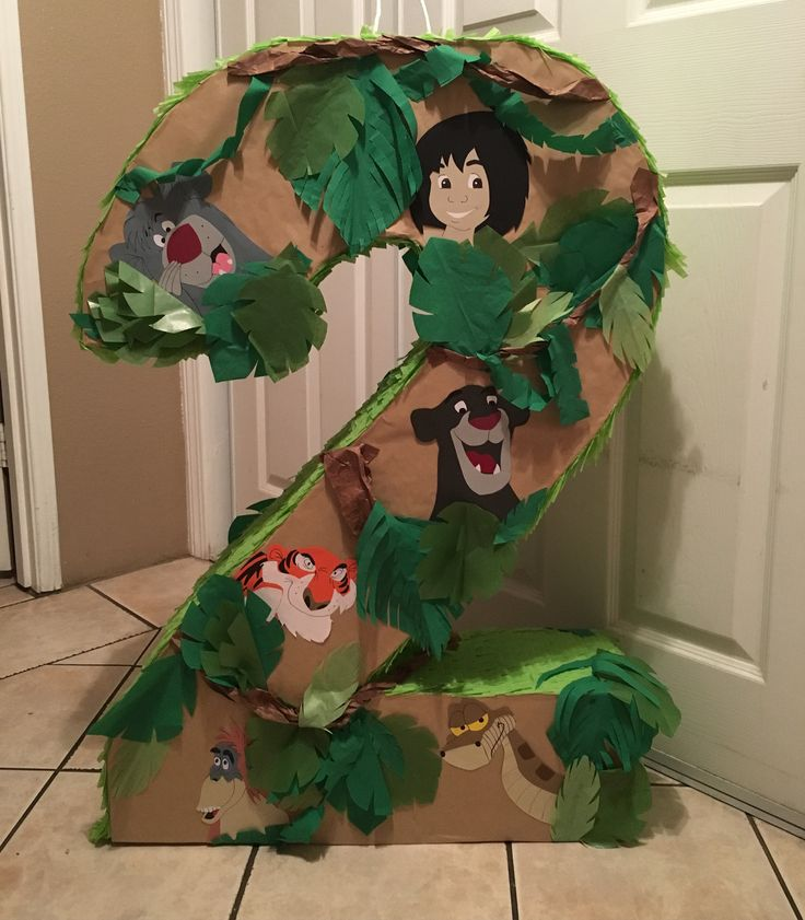 The Jungle Book Pinata 4/16                                                                                                                                                                                 More