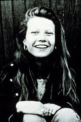 Young Gwyneth Paltrow - daughter of actress Blythe Danner and writer/director/producer Bruce Paltrow