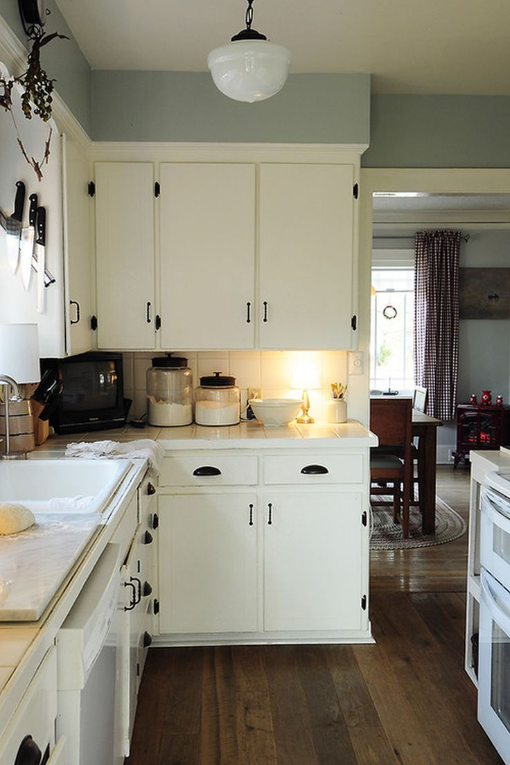 46 best modular kitchen images on pinterest kitchen kitchen when painting cabinet doors lay them out on a ladder supported by sawhorses eclectic kitchen by julie smith