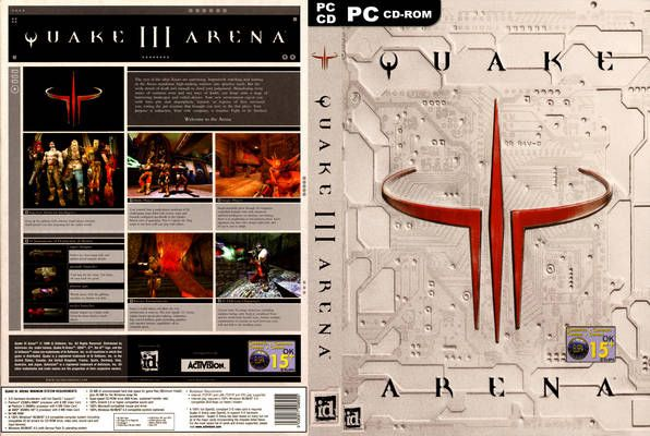 Quake III Arena (PC) from 1999
