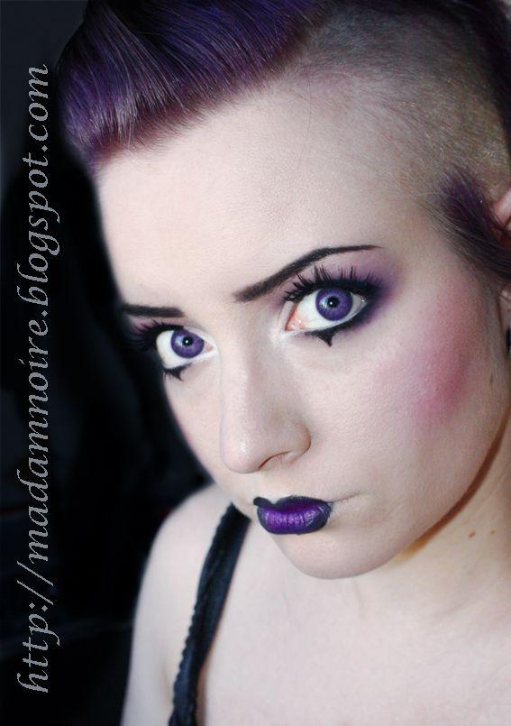 Punk Eye Makeup Gothic