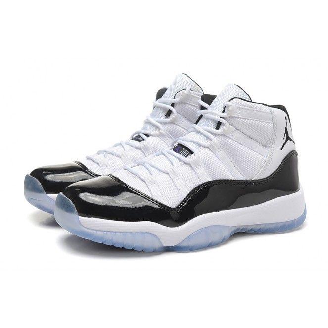 air jordan 11 basketball shoes high white black