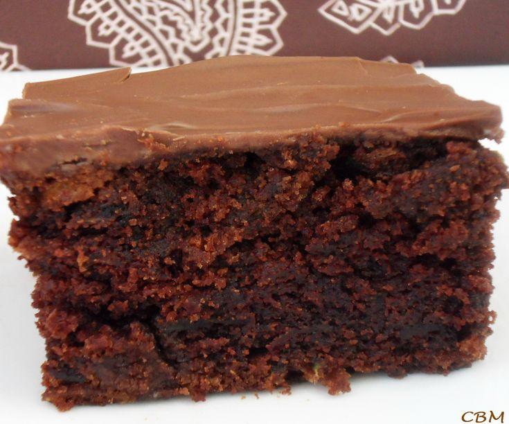 Gâteau Chocolat et Zucchinis