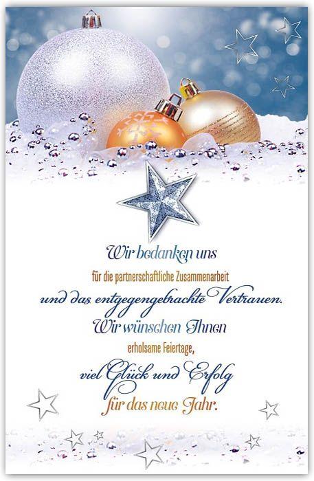 klassische weihnachtskarte mit firmengru und spende rzte