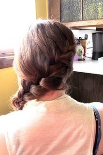 A diagonal french braid tutorial!