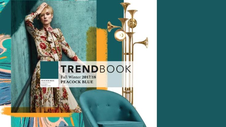 Trend Book Video: 2018 Color Trend Peacock Blue