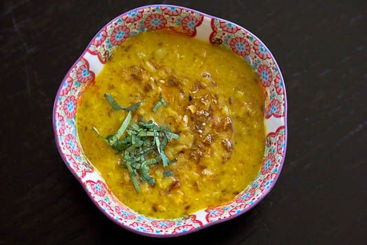 (red lentils/masoor dal, tomato, onion, ginger, turmeric, oil, red ...
