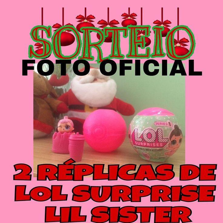 FOTO OFICIAL -  Sorteio de Natal e Ano Novo para as nossas seguidoras de todas as idades que são fãs dessa bonequinha linda que também amamos. - Iremos sortear duas RÉPLICAS DE LOL SURPRISE LIL SISTERS para duas crianças diferentes de qualquer lugar do Brasil com frete também por nossa conta.  Para participar é só seguir as seguintes regrinhas:  - 1 Curtir a foto oficial no Instagram @sorteiaedivulga.lilaeninna (#sorteiosLilaeNinna)  2 Seguir os igs:  @blog_lilaeninna…
