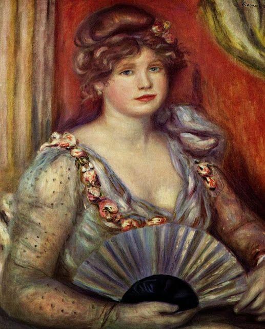 Κυρία με βεντάλια (1908)