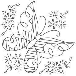 Pattern Detail | Butterfly & Lazy Daisies | Needlecrafter Would be beautiful made from royal icing!