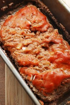 Award Winning Meatloaf - wonder if Steve would think it's better than his mom's...we know her meatloaf is better than mine.