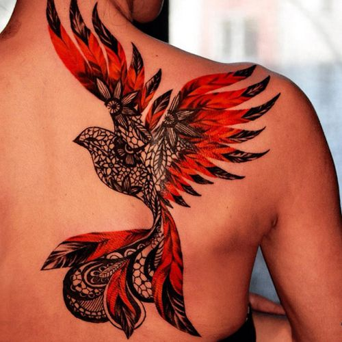 Image result for firebird tattoo