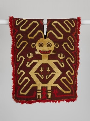 Tunic with Supernatural Figure, ca. 350–300 BCE