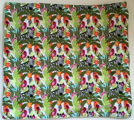 special OFFER baby blanket JUNGLE  baby minky baby by MaHEROsydney